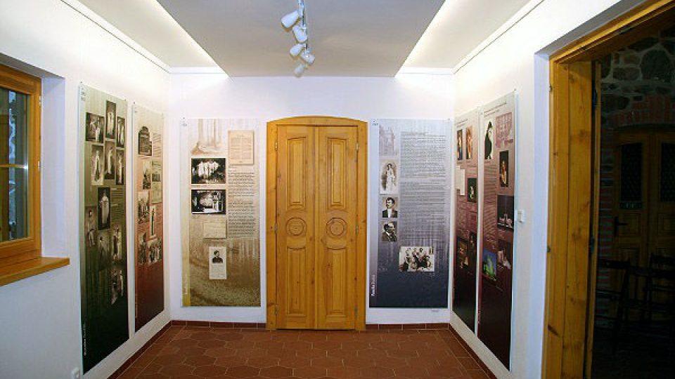 Interiér památníku Antonína Dvořáka