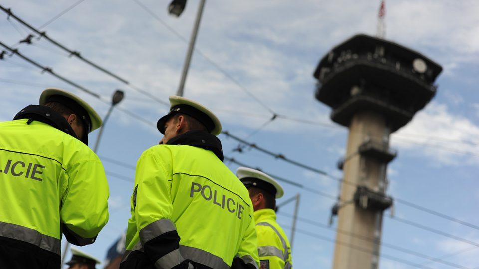 Soutěž dopravních policistů v Pardubicích