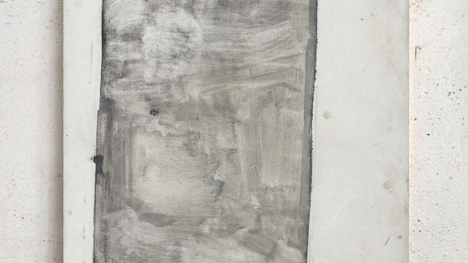 Nosítka, 2007-8, olej na sololitu