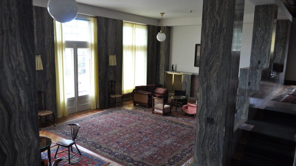 Müllerova vila v Praze, interiér