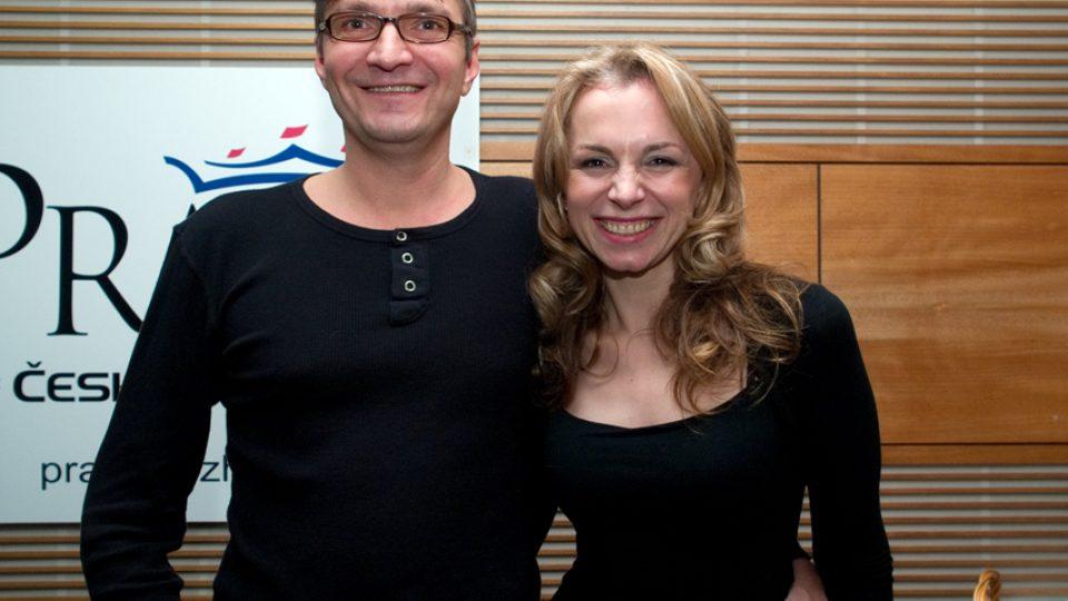 Jan Svěrák a Martina Kociánová