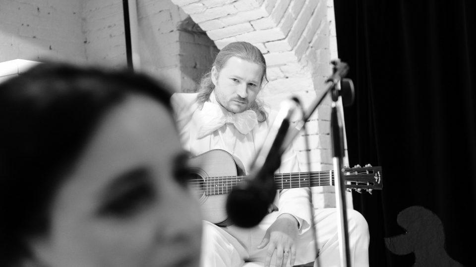 Martin Kostaš na vystoupení scat.olmerová