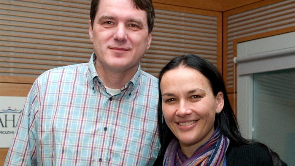 Vladimír Iljič Pecháček a Jana Rychterová
