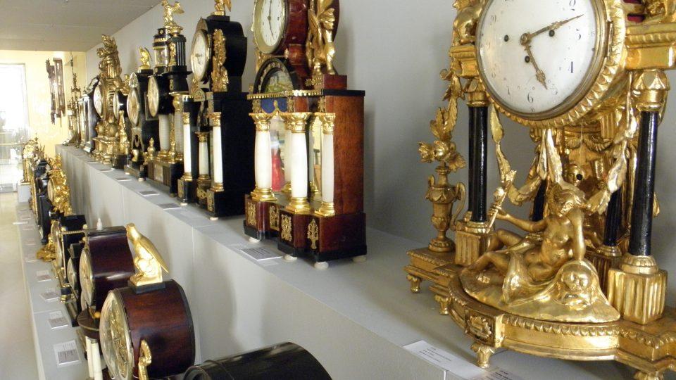Expozice času - barokní hodiny