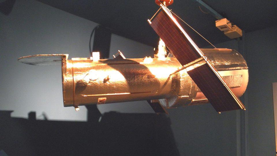 Expozice času - Hablův teleskop