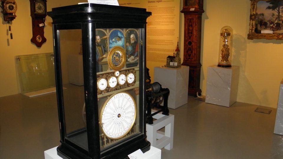 Expozice času - hodinový orloj