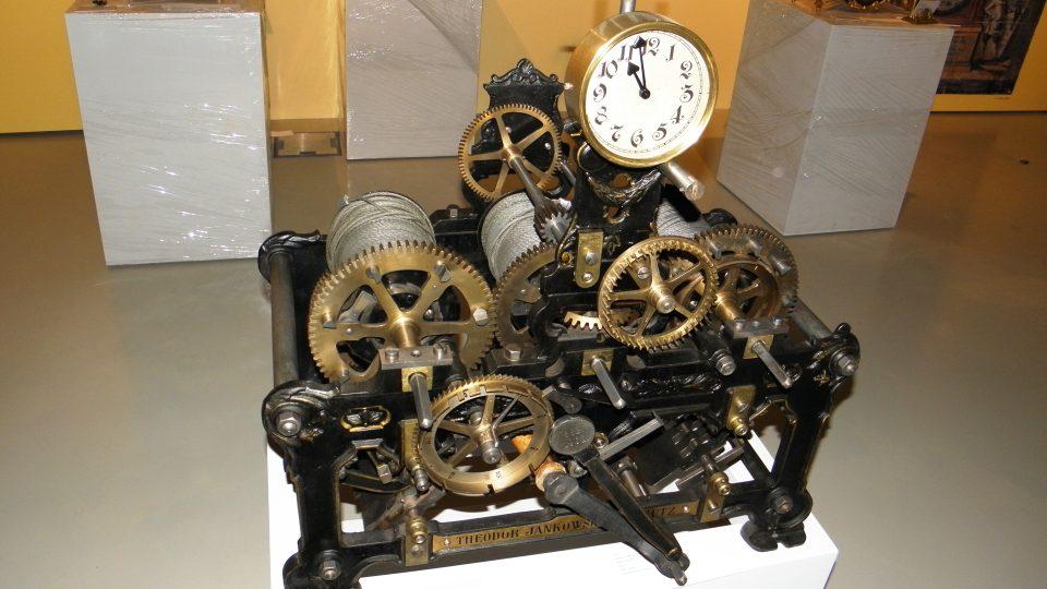 Expozice času - hodinový stroj