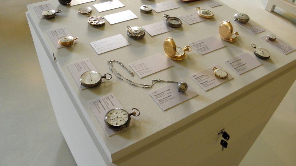 Expozice času - kapesní hodinky