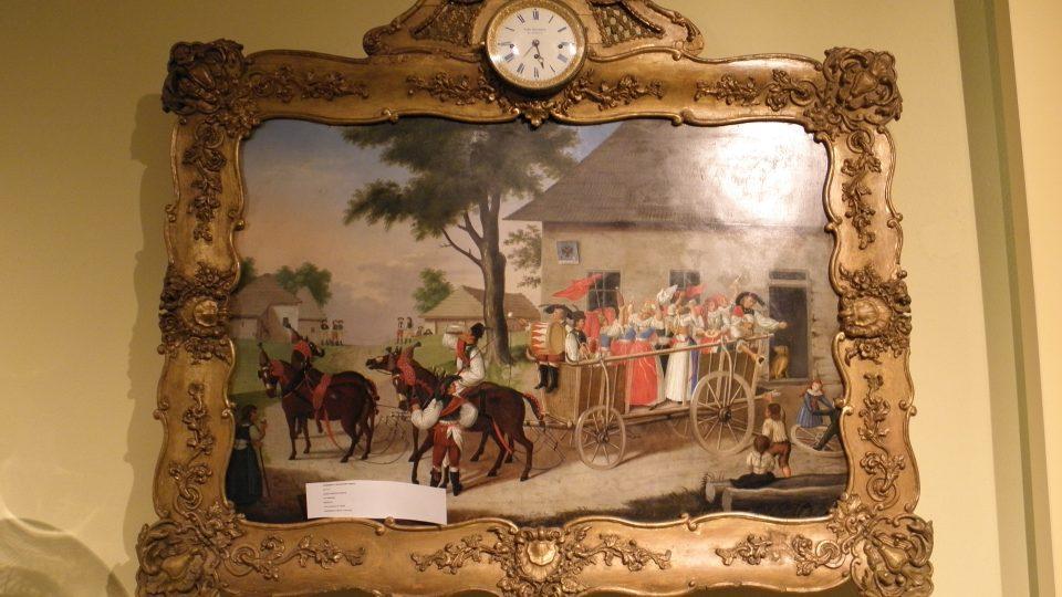 Expozice času - obrazové hodiny