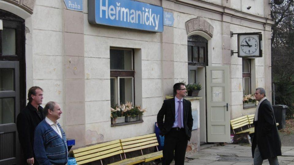 Stanice Heřmaničky
