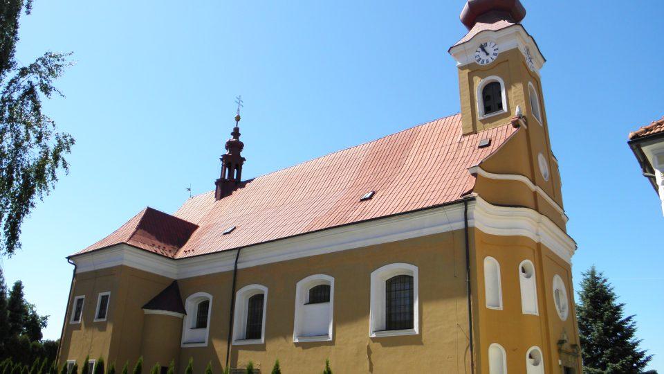 Dřevohostice - kostel sv. Havla