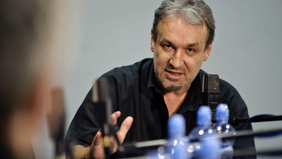 Jaromír Ostrý, šéfredaktor Dvojky