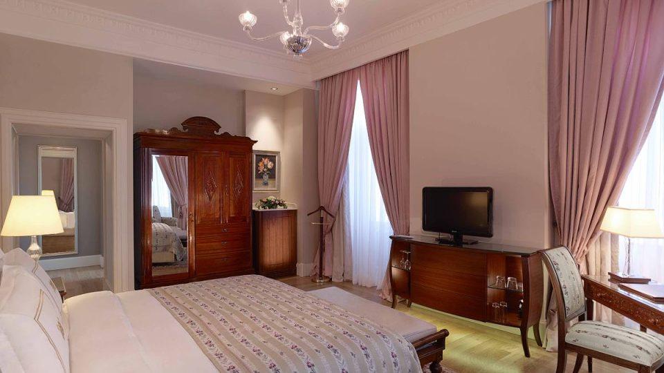 I dnes se mohou hosté ubytovat v pokoji, kde pobývala Greta Garbo