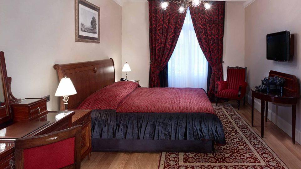 V tomto pokoji psala Agatha Christie román Vražda v Orient expresu
