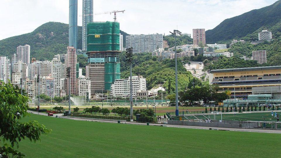Přestože je Hongkong zeleným ostrovem, pavoučí muži se bojí, že bambus může dojít