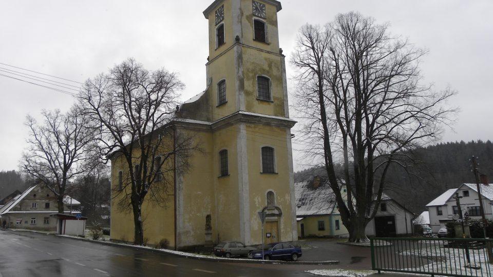 Kostel v Mladkově