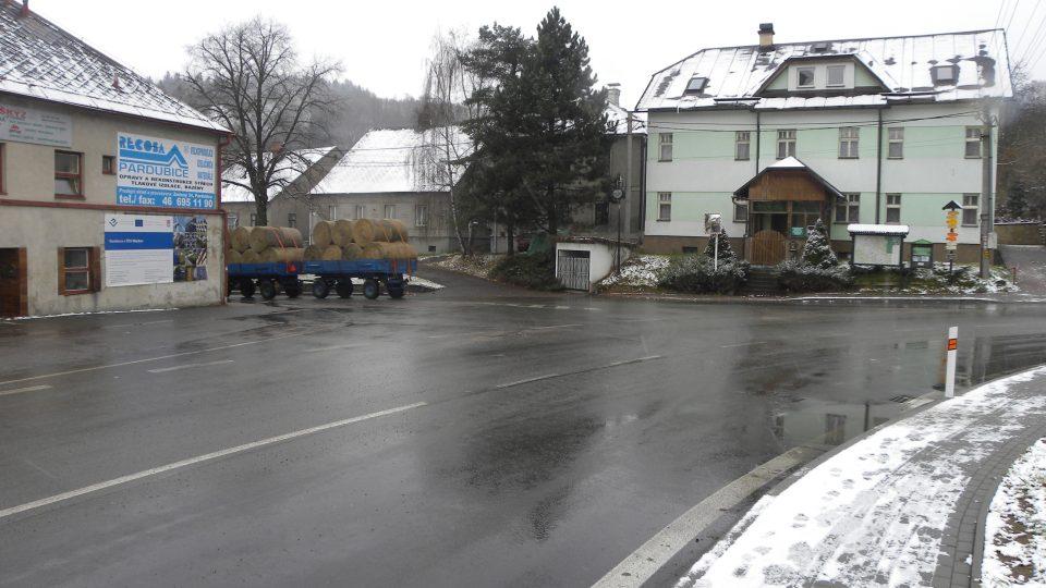 Mladkov - náměstíčko