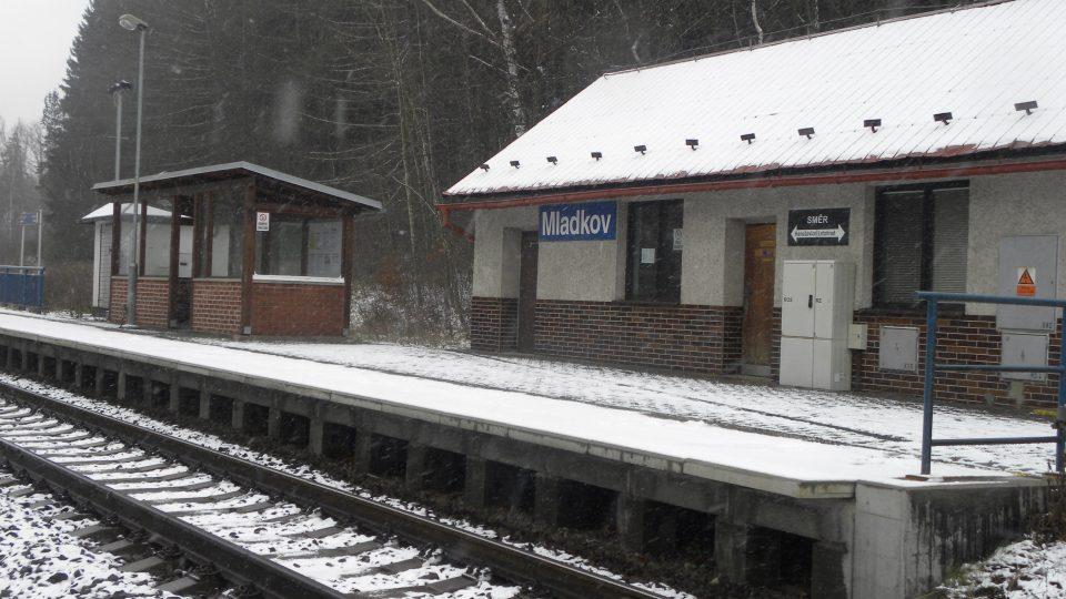 Mladkov - vlaková zastávka