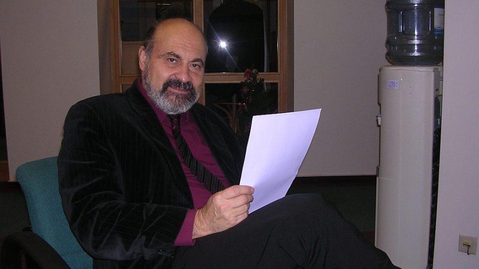 mons. prof. PhDr. Tomáš Halík, Th.D. ve studiu ČRo HK