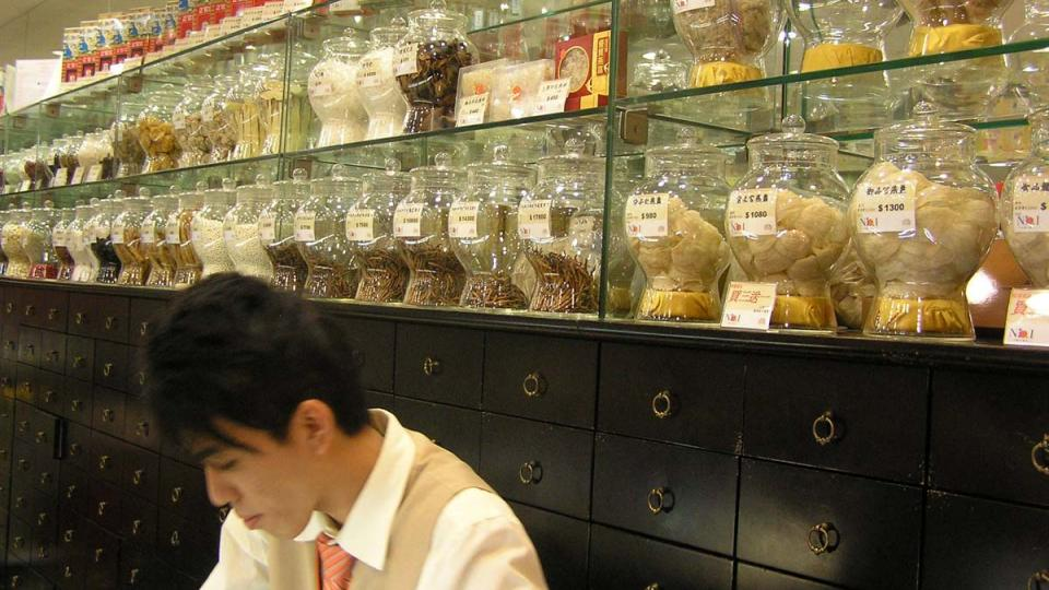 Hongkongská lékárna se od té evropské značně liší