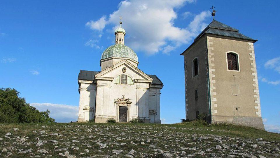 Kaple sv. Šebestiána na Svatém kopečku u Mikulova