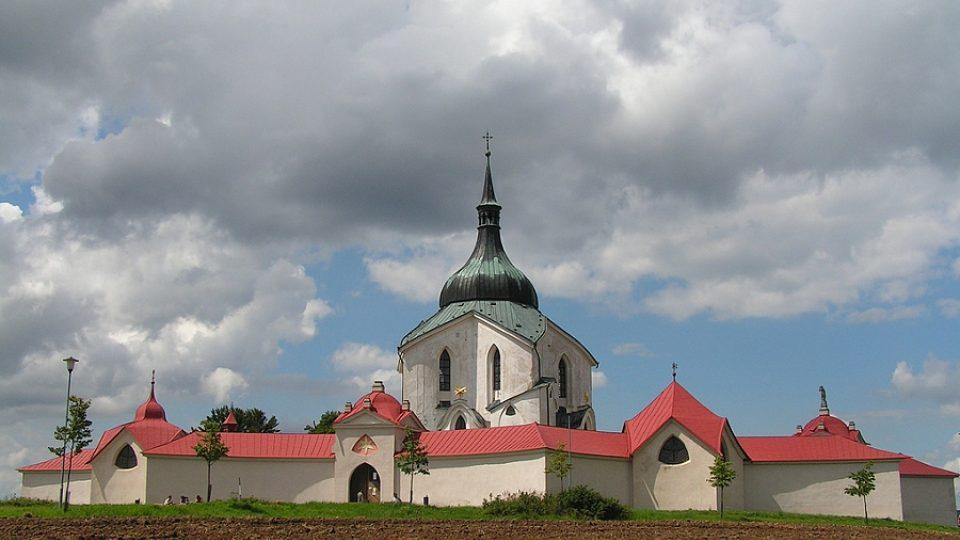 Celkový pohled na areál kostela, který byl zařazen na seznam památek UNESCO