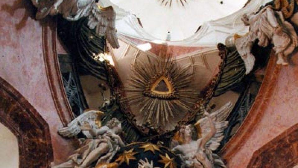 Výzdoba kostela ohromuje dnešní poutníky stejně jako ty před téměř třemi staletími