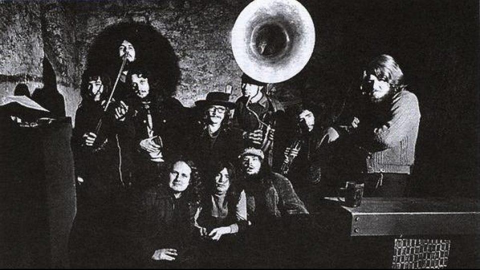 The Plastic People of the Universe ve zkušebně v Holešovicích (rok 1972)