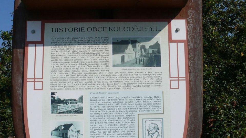 Historie obce Koloděje nad Lužnicí