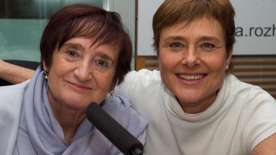 Blanka Říhová a Marie Retková