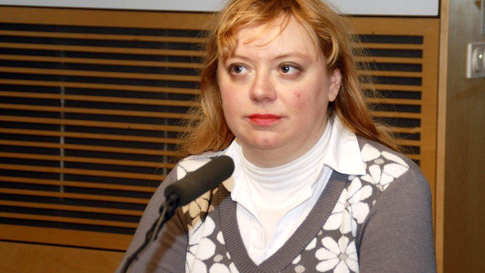 Ilona Švihlíková byla hostem Dvaceti minut Radiožurnálu