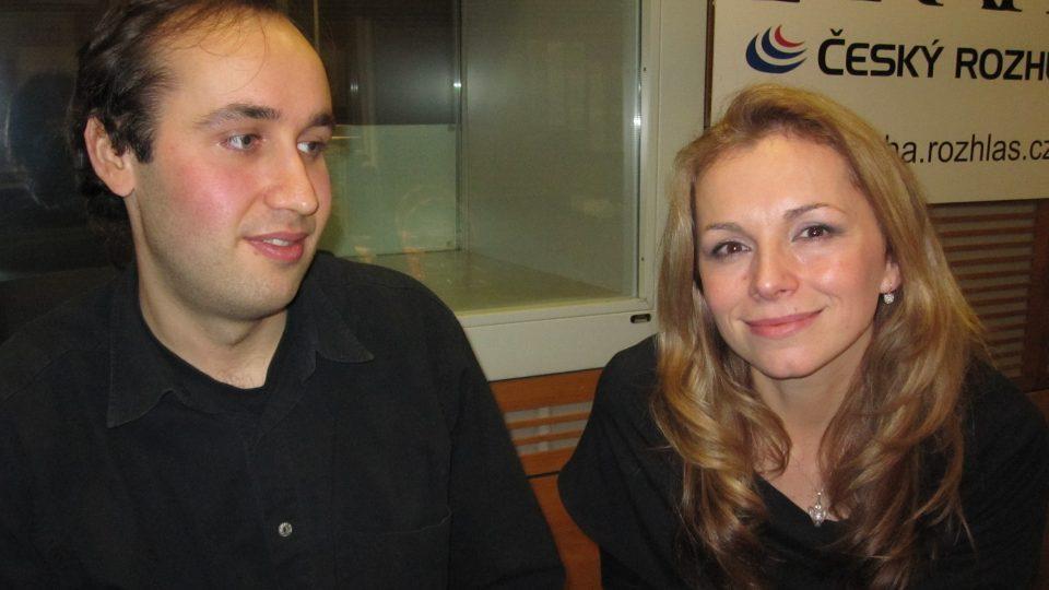 Alek Lačev a Martina Kociánová