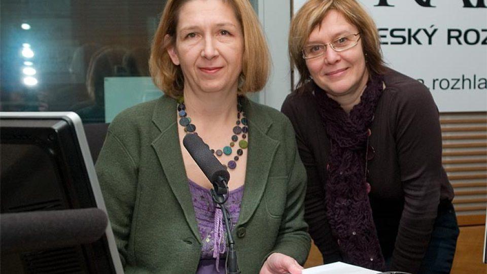 Lucie Lomová a Daniela Brůhová
