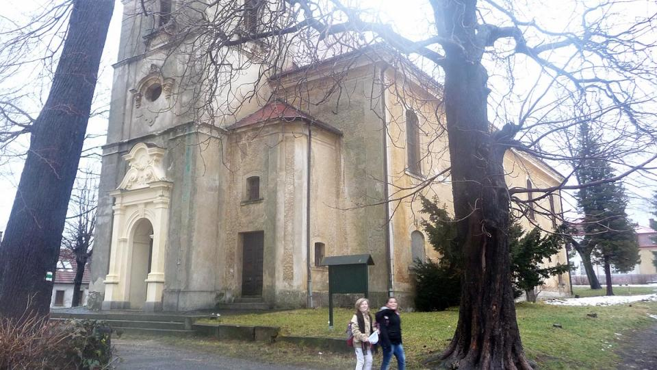 Jednou z dominant Nového Města pod Smrkem je kostel svaté Kateřiny