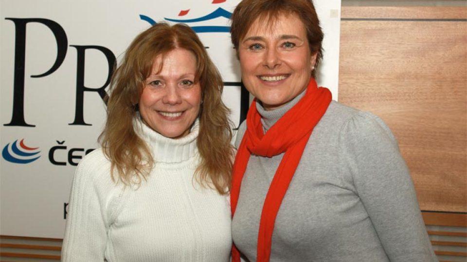 Lenka Filipová a Marie Retková