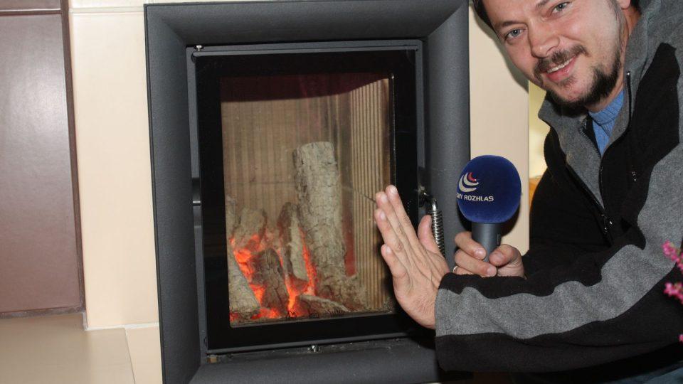 Dvířka spalovací komory