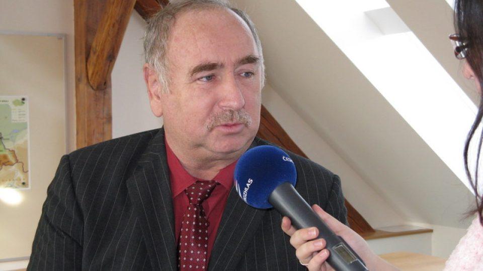 Paseka - starosta Paseky Jiří Blažek