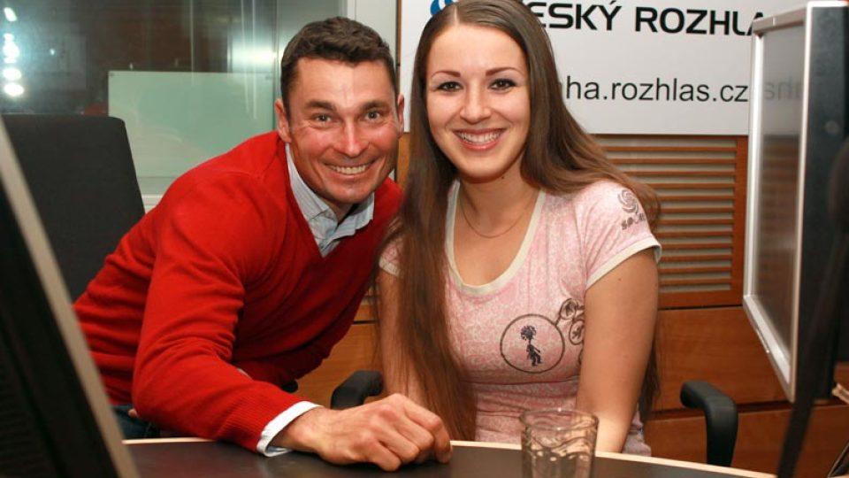 Jiří Ježek a Eva Kvasničková