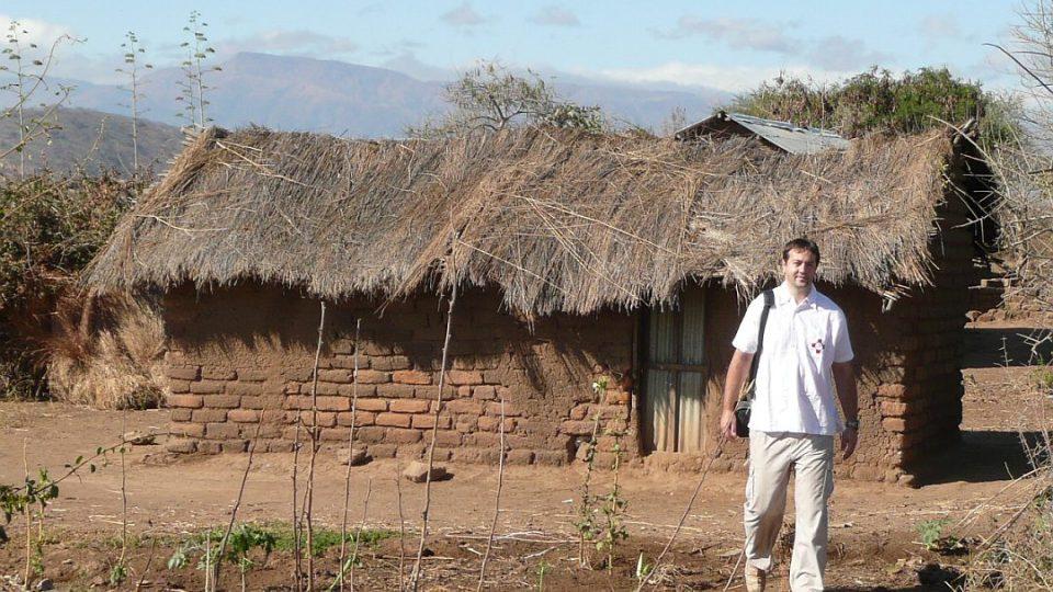 Afrika - na návštěvách u pacientů