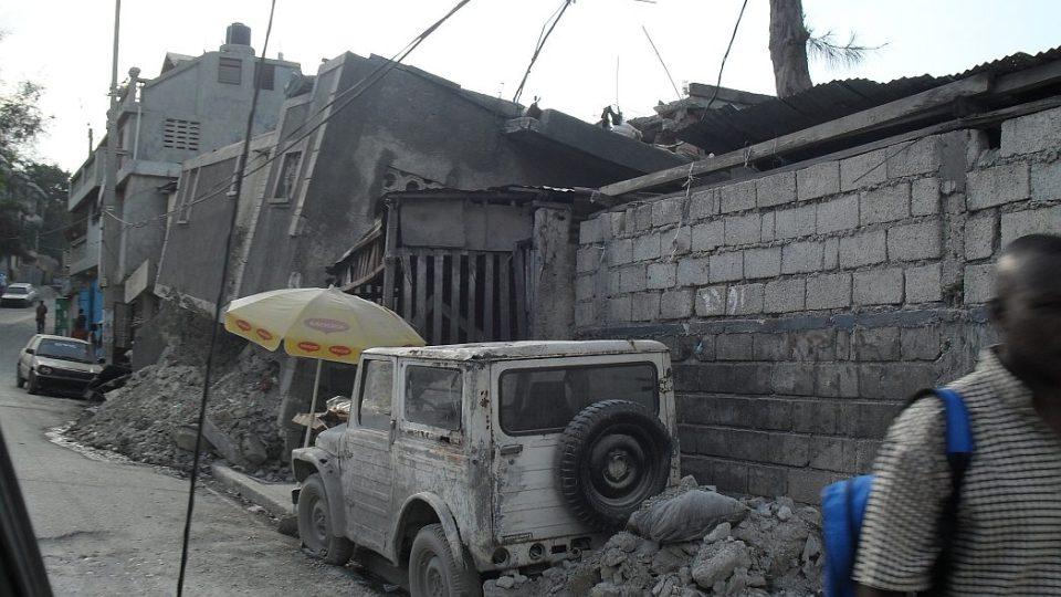 Haiti - zničené hlavní město