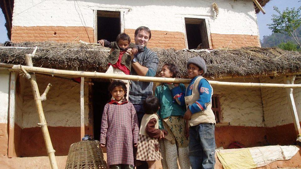 Nepál - děti z chudých rodin