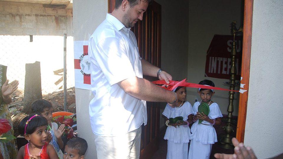 Srí Lanka - otevření zdravotního centra