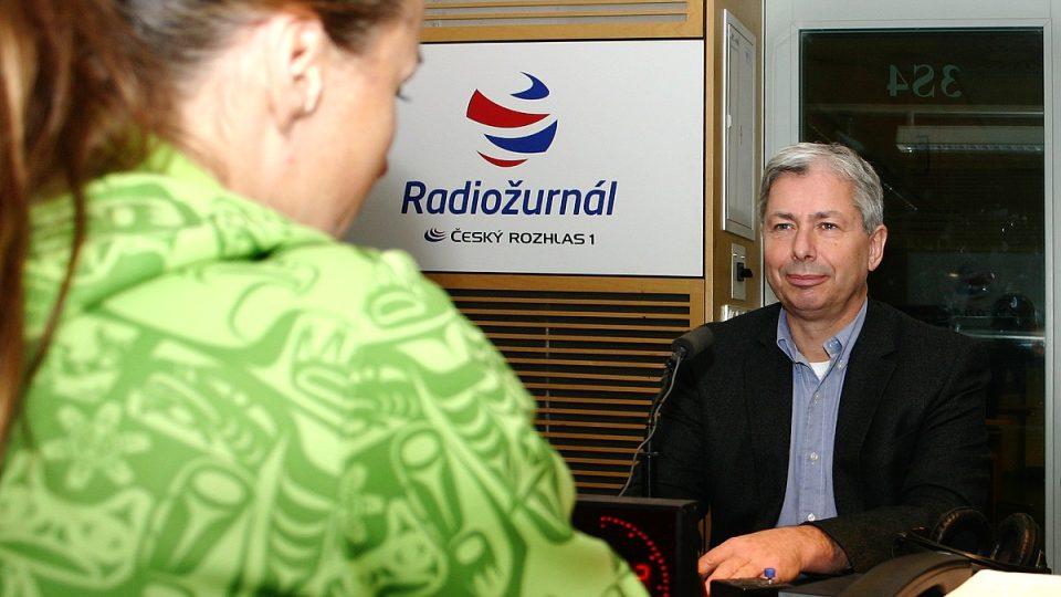 Martin Filipec je ředitelem oční kliniky