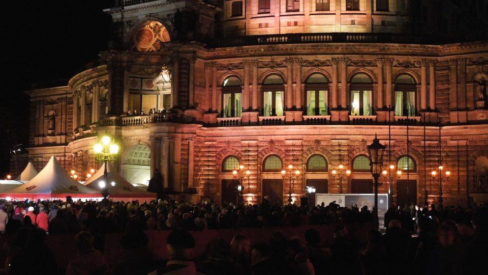 Semperova opera je jedním z nejhezčích operních sálů v Evropě