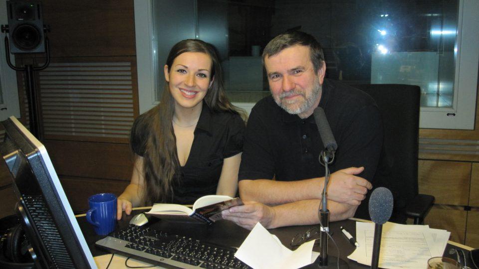 Vlastimil Vondruška a Eva Kvasničková