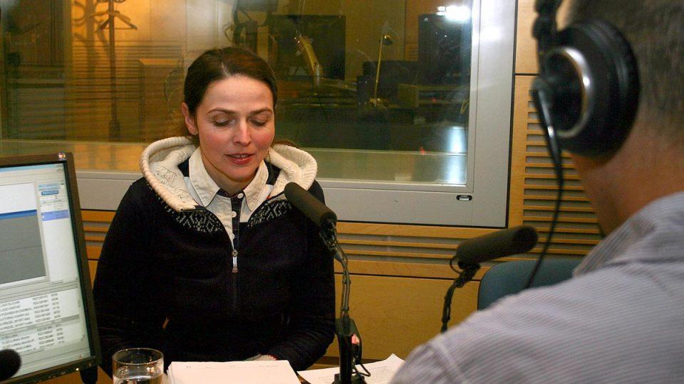 Petra Žikovská z IFPI odpovídala na otázky ve Dvaceti minutách Radiožurnálu