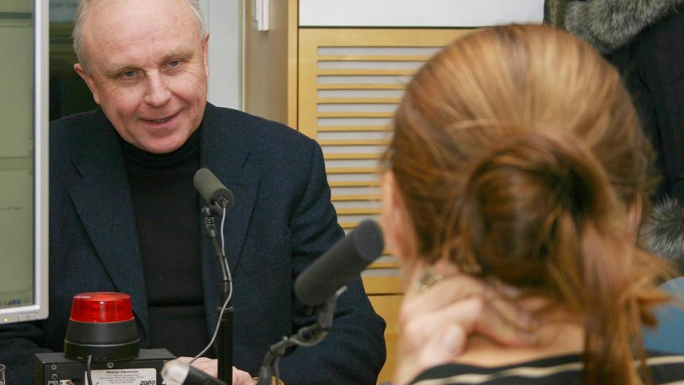 Jan Starý odpovídá na otázku Lucie Výborné
