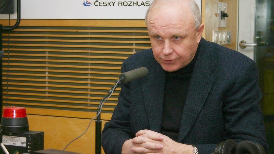 Jan Starý, přednosta Kliniky dětské hematologie a onkologie 2. lékařské fakulty Univerzity Karlovy v Praze