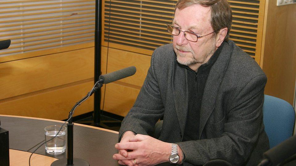 Slavomil Hubálek hostem Radiožurnálu