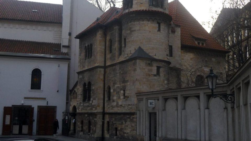 Architekt František Gerstel navrhl budovu obřadní síně do podoby románského zámečku